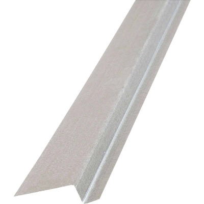 NorWesco 3/8 In. x 5/8 In. x 2 In. x 10 Ft. Mill Galvanized Ply Edge Z-Style Flashing