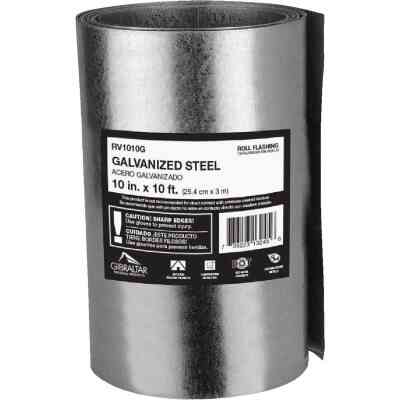 NorWesco 10 In. x 10 Ft. Mill Galvanized Roll Valley Flashing