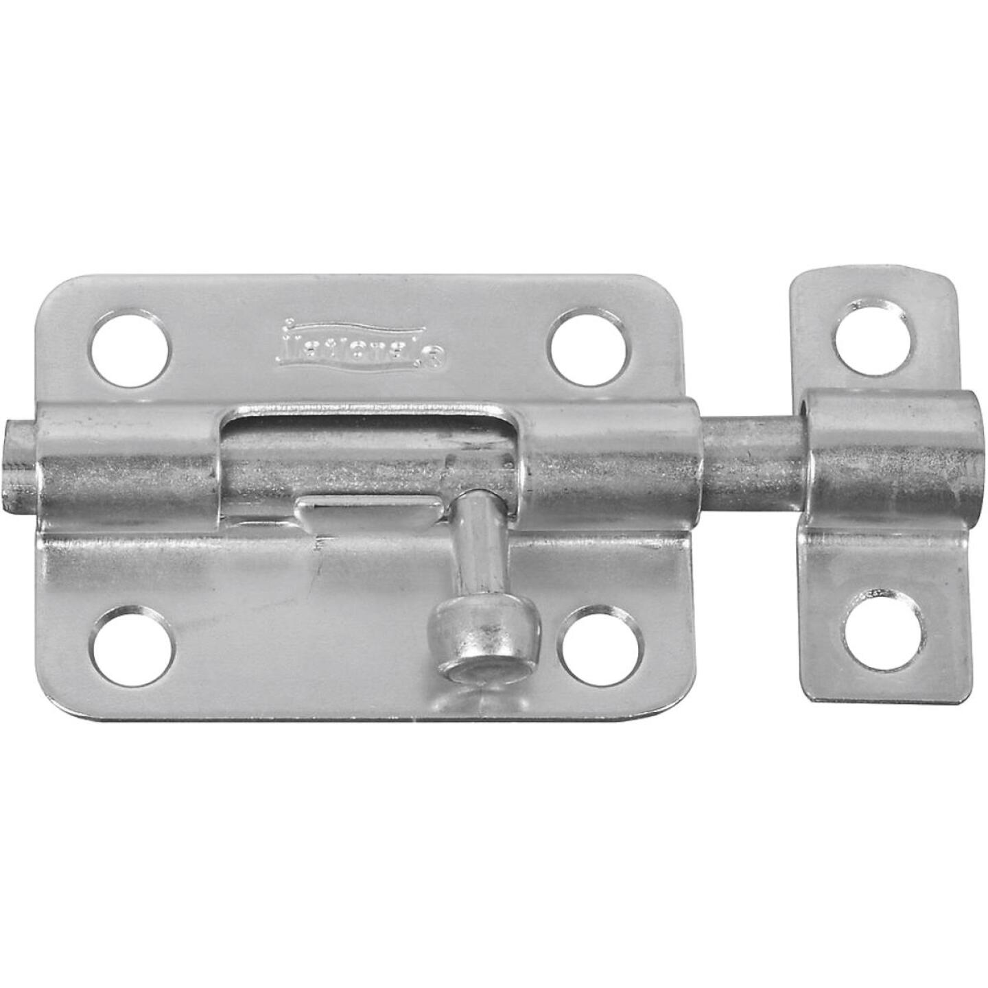 National 3 In. Zinc Steel Door Barrel Bolt Image 1