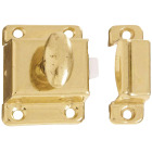 National Satin Brass Cupboard Turn Image 1