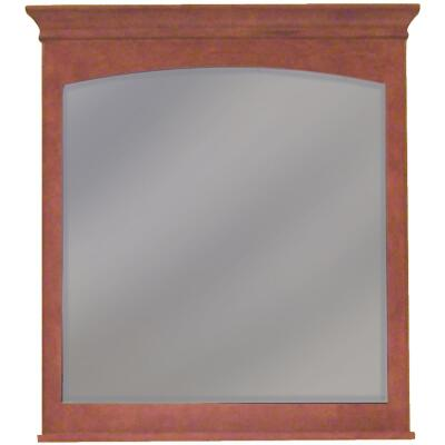 Sunny Wood Expressions Cinnamon 36 In. W x 40 In. H Vanity Mirror