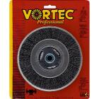 Weiler Vortec 6 In. Crimped, Coarse Bench Grinder Wire Wheel Image 1
