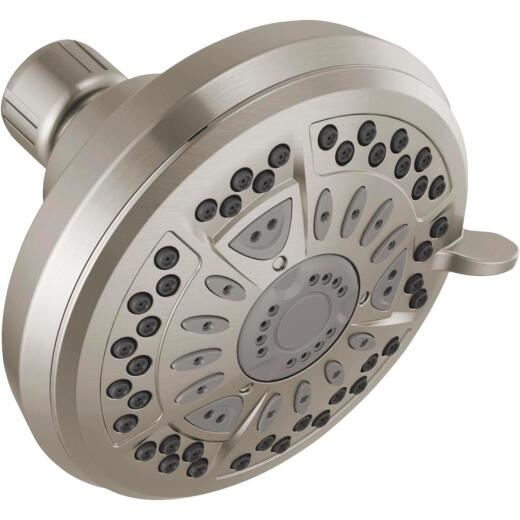 Delta 6-Spray 1.75 GPM Fixed Showerhead with SpotShield, Chrome