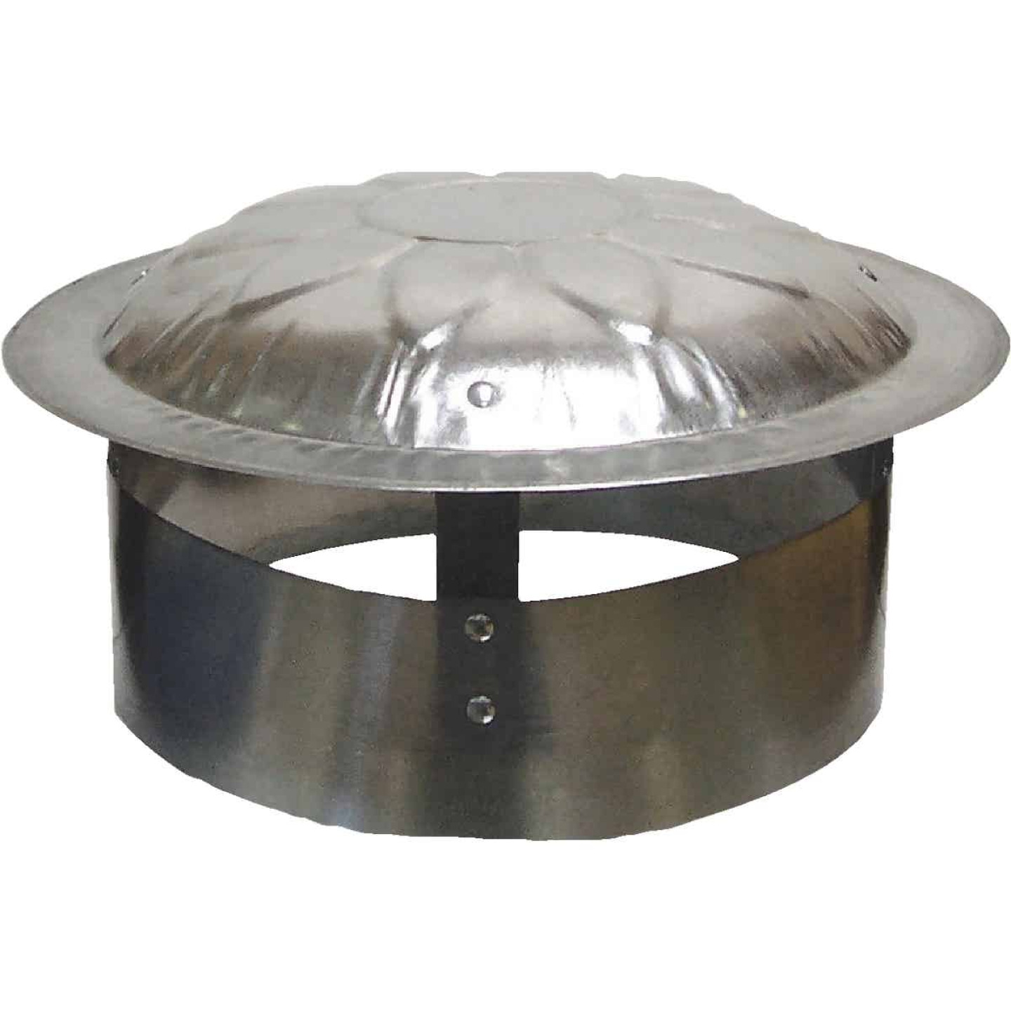 S & K Galvanized Steel 9 In. x 12 In. Vent Pipe Cap Image 1