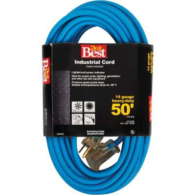 Do it Best 50 Ft. 14/3 Industrial Outdoor Extension Cord