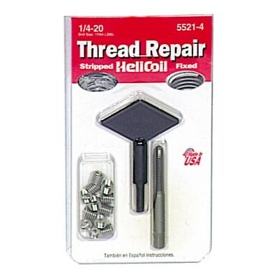 HeliCoil 1/4-20 Stainless Steel Thread Repair Kit