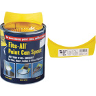 FoamPro Fits-All Snap-On Paint Can Pourer Image 1