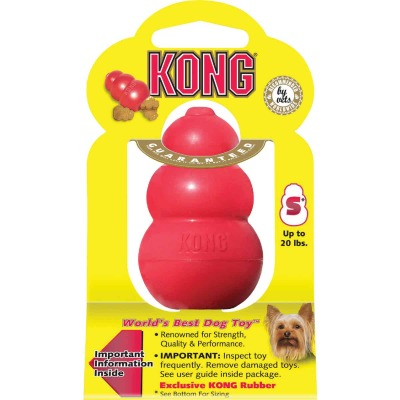 Kong Classic Dog Chew Toy, Up to 20 Lb.