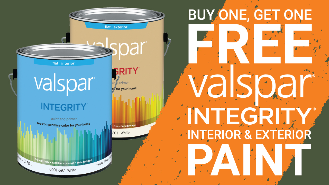 Paint BOGO - April 22 - 24
